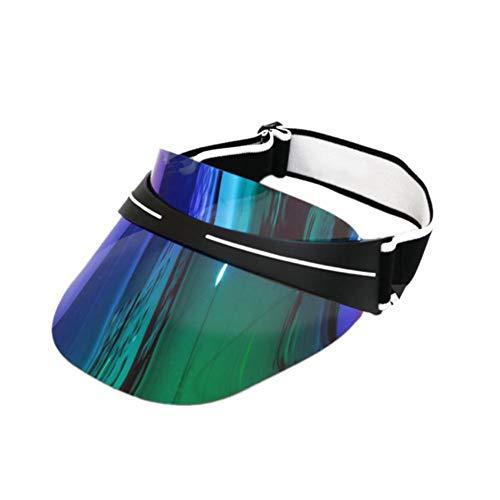 Sonnenhüte Sonnenschutzkappen Sonnenblende-Hut UV-breiter Rand Sonnenblende-Kappen-Sonnenbrille-Hut Headwear-Überzug-Sonnenbrille-Kappe Für Reise-Feiertags-Strand-Schwimmen Das Radfahren, Das Kampiert