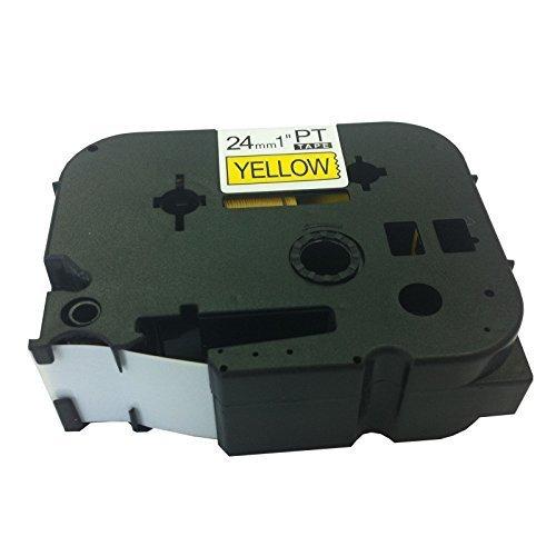 Eseller Direct® - Nastro per Etichette TZ651 per Brother P-Touch PT3600 - 24mm x 8m (Esd Bottiglia)