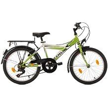 """KS Cycling Street Vélo de ville enfant 20"""" Vert 34 cm"""