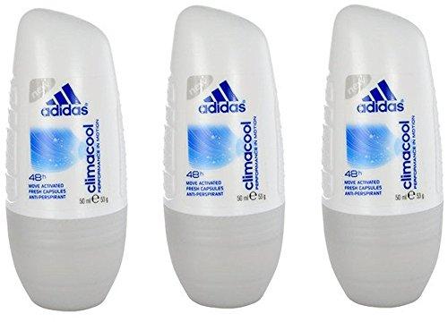 adidas Climacool Deo Roller - Antitranspirant Deo Roll-on mit frischem Duft und langanhaltendem Schutz vor Schweiß - pH-hautfreundlich - 1 x 50 ml - Adidas Deo-antitranspirant