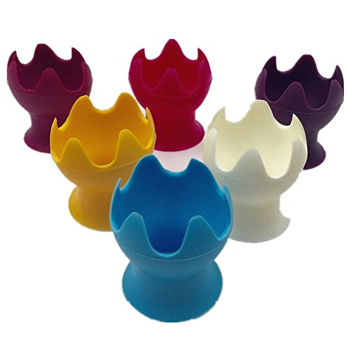 Minifamily® Cute Lotus en silicone en forme Cosmétique blender Maquillage blender éponges support – Beauty Blender Holder (couleur aléatoire 1 pcs)