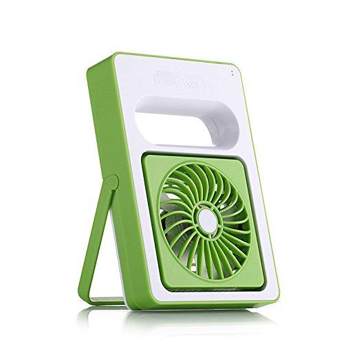 ventilatore portatile USB ventilatore ricaricabile piccolo ventilatore , green