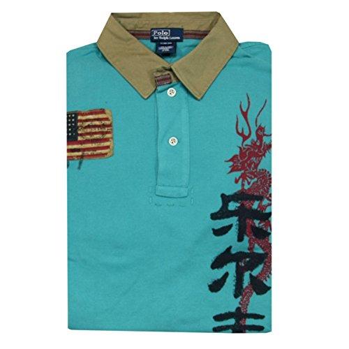a0038-t-shirt-ralph-lauren-polo-bimbo-manica-corta-kid-m-10-12
