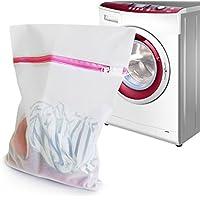 iLifeTech - Sacchetti in rete per lavatrice, ideali per garantire massima protezione a giacche, maglioni (Grande E Capi Di Alto)