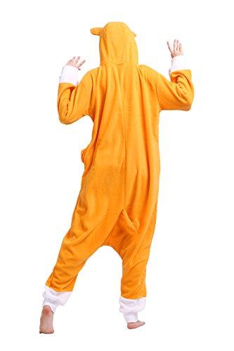 Magicmode Unisex Cartoon Cosplay Animali Insetti Costumi Felpa Adulti Kigurumi Onesie Pigiami Pigiameria Cuore Di Cane