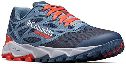 Columbia Trans Alps F.k.t. II, Zapatillas de Running para Asfalto para Hombre, Azul (Zinc, Red Quartz 492), 43.5 EU