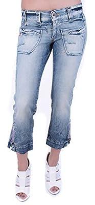 Miss Sixty Women's Jeans 7/8 Capri Capri Jeans Blue Strip #20