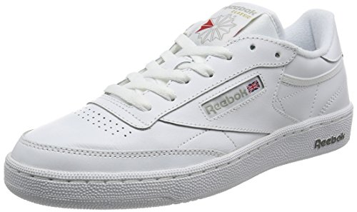Reebok Club C 85, Chaussures de Fitness Homme Multicolore (White/sheer Grey)