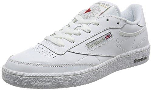 Reebok Herren Club C 85 Sneaker Mehrfarbig (bianco / Grigio Scuro)