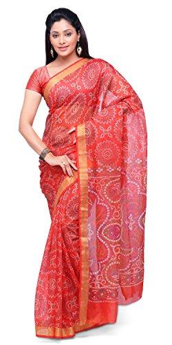 Rajnandini Cotton Saree (Joplsrs1053H_Orange)