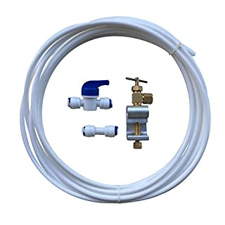 American Fridge Freezer Water Filter Connection Plumbing Kit including Tubing