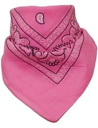 Bandana mit original Paisley Muster in rosa