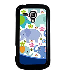 PrintVisa Designer Back Case Cover for Samsung Galaxy S Duos S7562 (glass beautiful baby cloths lifestyle)