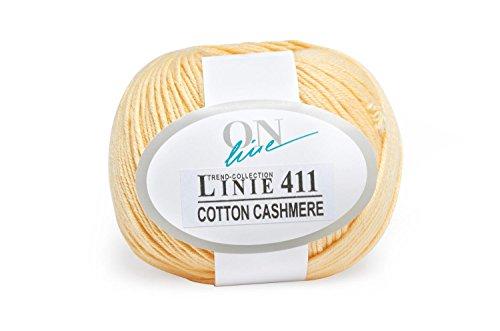 Preisvergleich Produktbild ONline Wolle Cotton Cashmere Farbe 03