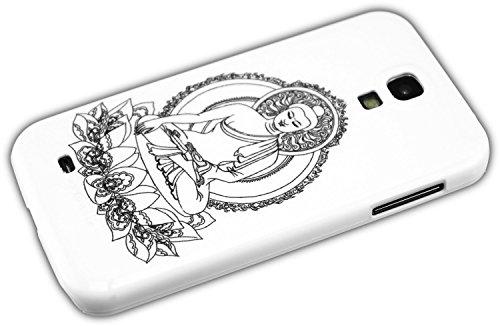 thematys Samsung Galaxy S4I9500I9505Buddha Statua Statuetta Hard Case Custodia Rigida