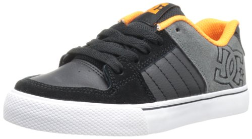 DC Jungen Chase Low Top Schuhe, EUR: 27.5, Black/Battleship (Schuhe Battleship)