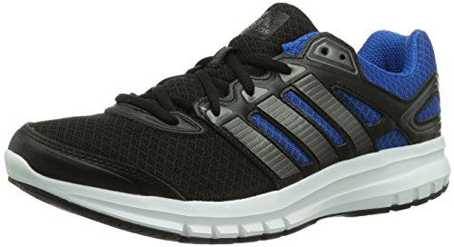 adidas Duramo 6, Chaussures de running homme Noir (Black 1/Carbon Met. S14/Blue Beauty F10)