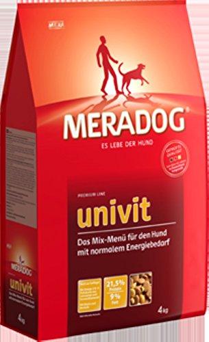 2 x 12,5 kg Mera Dog UNIVIT Hundefutter für Hunde mit normalem Energiebedarf