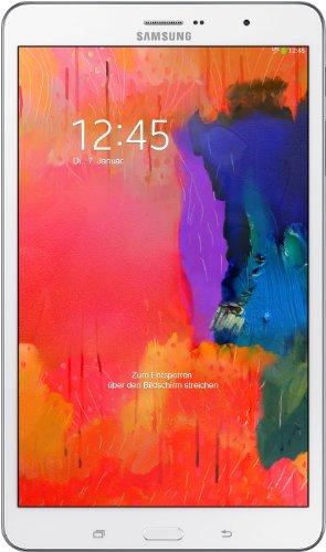 Samsung Galaxy Tab Pro T325 LTE (21,3 cm (8,4 Zoll) Touchscreen, 2,3GHz, WiFi, 2GB RAM, 8 Megapixel Kamera, 16GB interner Speicher, Micro-USB) weiß