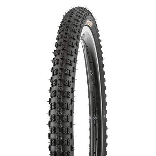 """KENDA BMX K-50 Fahrradreifen-Set, schwarz, 20 x 1.75 Zoll, inkl. 2 x 20"""" Schlauch mit Autoventil"""