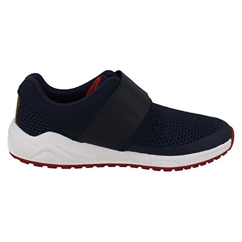 Clarks Jungen Frisby Ace Inf Low-Top Navy