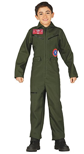 Guirca- Disfraz aviador, Talla 10-12 años (83294.0)