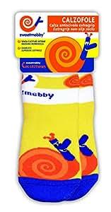 Mebby Calzofole Chaussettes pour Bébé - Escargot - 0 à 6 mois