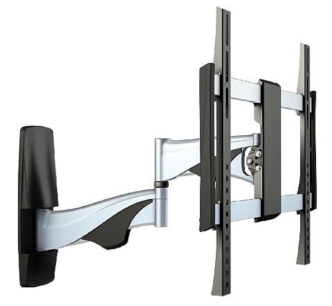 RICOO Flachbild-Fernseher Fernseh-Halterung S0444 Curved TV Wandhalterung Schwenkbar Neigbar LED LCD VESA-Halterung 4K OLED Bildschirm 42-50-55
