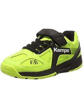 Kempa Unisex-Kinder Wing Junior Caution Hallenschuhe