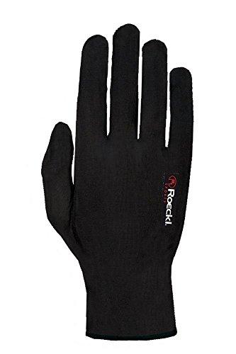 Roeckl Kalamaris Winter Unterziehhandschuh / Handschuhe schwarz: Größe: L (9)