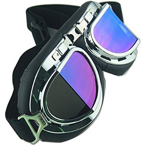 THG 1 Pedazo de seguridad a prueba de viento Gafas a prueba de viento Gafas ¨¢ngulo espejo reflectante lente gafas de protecci¨®n
