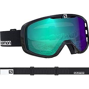 Salomon Unisex Aksium Photo Skibrille, geeignet für Brillenträger, alle Wetterverhältnisse, Airflow System