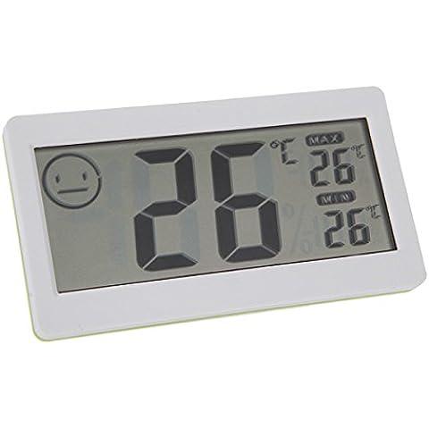 3,3pulgadas de pantalla LCD Mini Digital Termómetro inalámbrico Interior higrómetro medidor de temperatura y humedad nuevo termostato electrónico