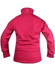 Horka Suéter para hombre Extreme impermeable Capucha ajustable exterior Equitación Chaqueta, azul laguna