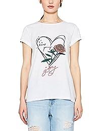 edc by Esprit 057cc1k045, T-Shirt Femme
