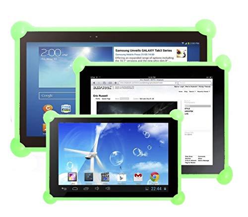 cover silicone tablet 10.1 Cover tablet custodia tablet cover tablet silicone custodia tablet silicone custodia in slicone tablet cover in silicone tablet compatibile con tablets pc di qualsiasi dimensione e marca Verde