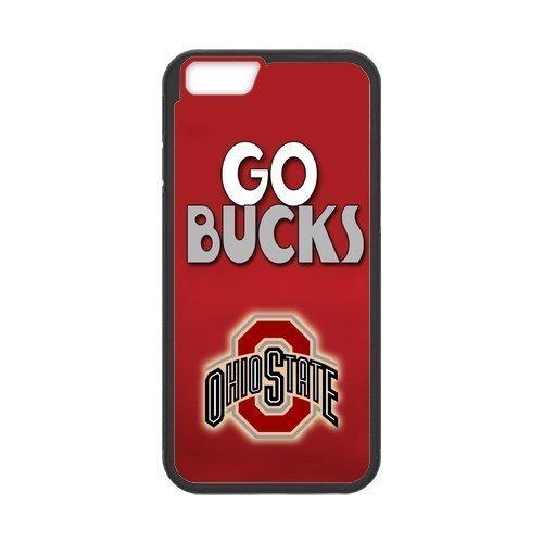 Onshop Custom NCAA Ohio State Buckeyes Logo Phone Case Laser Technology for iphone 5c Logo Custom Iphone