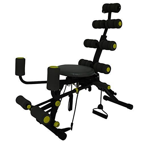 DWhui Cintura Trainer Multi-Funcional/Ajustable Altura para Crunch & Sit-up Ejercicio Abdominal Entrenamiento básico Equipo de Entrenamiento