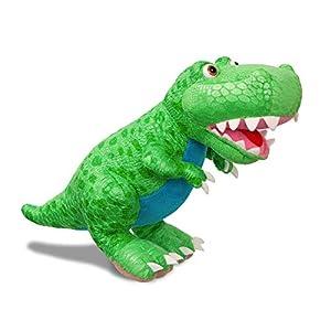 Dinosaur Roar T-Rex Suave, 61232, Juguete para niños, Color Verde, Museo de Historia Natural