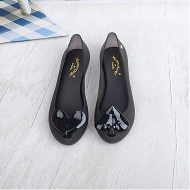 pwne Donna Sandali Slingback Estate Pu Casual Nero Argento US7.5 / EU38 / UK5.5 / CN38