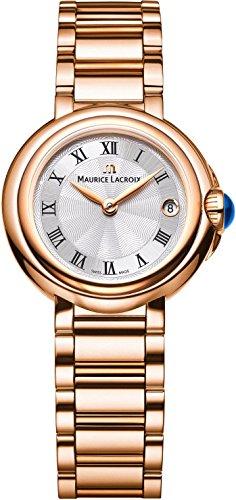 Maurice Lacroix Fiaba Round FA1003-PVP06-110 Damenarmbanduhr Sehr Elegant