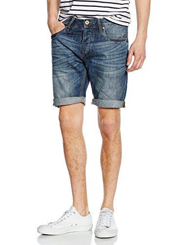 JACK & JONES Herren Jjirick Jjorg Shorts Akm 601, Blau (Blue Denim), Medium