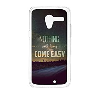 a AND b Designer Printed Mobile Back Cover / Back Case For Motorola Moto X (Moto_X_3202)