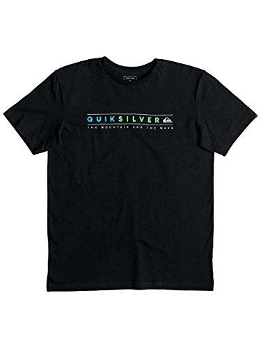 Quiksilver Herren Alwaysclean Classic Always Clean T-Shirt Black