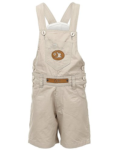 FirstClap offwhite Cotton Dungaree for kid's