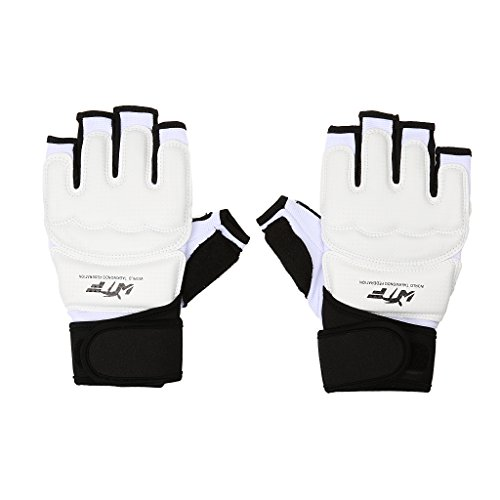 Box-handschuhe (Professionelle Hochwertige Kinder Erwachsen Gepolsterte Halbe-Finger Handschuhe für Boxen Muay Thai Gym Training Sport Sandsack Boxsack Freefight Kampfsport - Tarnung, XS)