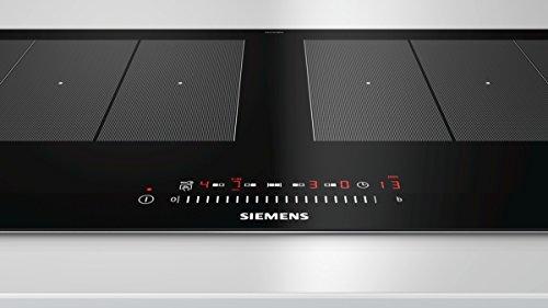 Siemens EX275FXB1E iQ700 Kochfeld Elektro/Ceran/Glaskeramik / 91,2 cm/Flexible Kochzonen – 2 varioInduktions-Kochzonen/schwarz