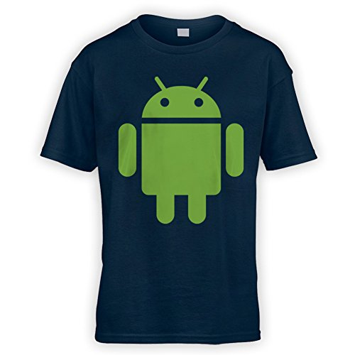 This Way Up For Android Kids T-Shirt -x10 Colours- XS To XL Sizes (3 To 13 Years)
