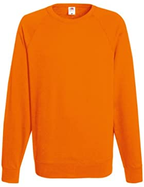 [Sponsorizzato]Fruit of the Loom Raglan Sweatshirt - Felpa a manica lunga da uomo