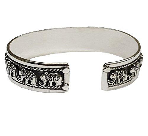 TreasureBay Sterling Silver Bangle Bracelet Made from Solid 925 Sterling Silver Unisex KuXVi3Aqb9